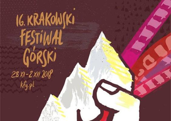 16. Krakowski Festiwal Górski plakat