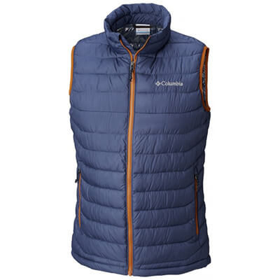 Kamizelka Columbia Powder Lite Vest. Dark Mountain Bright Cooper