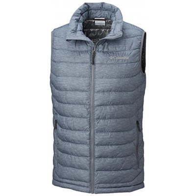 Kamizelka Columbia Powder Lite Vest. Grey Ash Heather