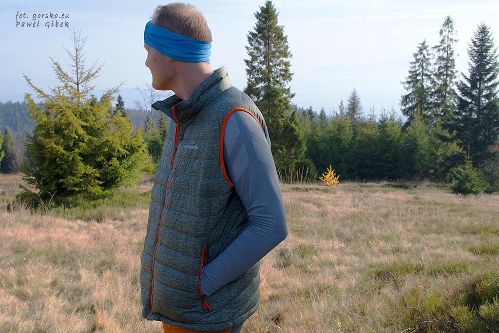 Kamizelka Columbia Powder Lite Vest. Kieszenie zewnętrzne
