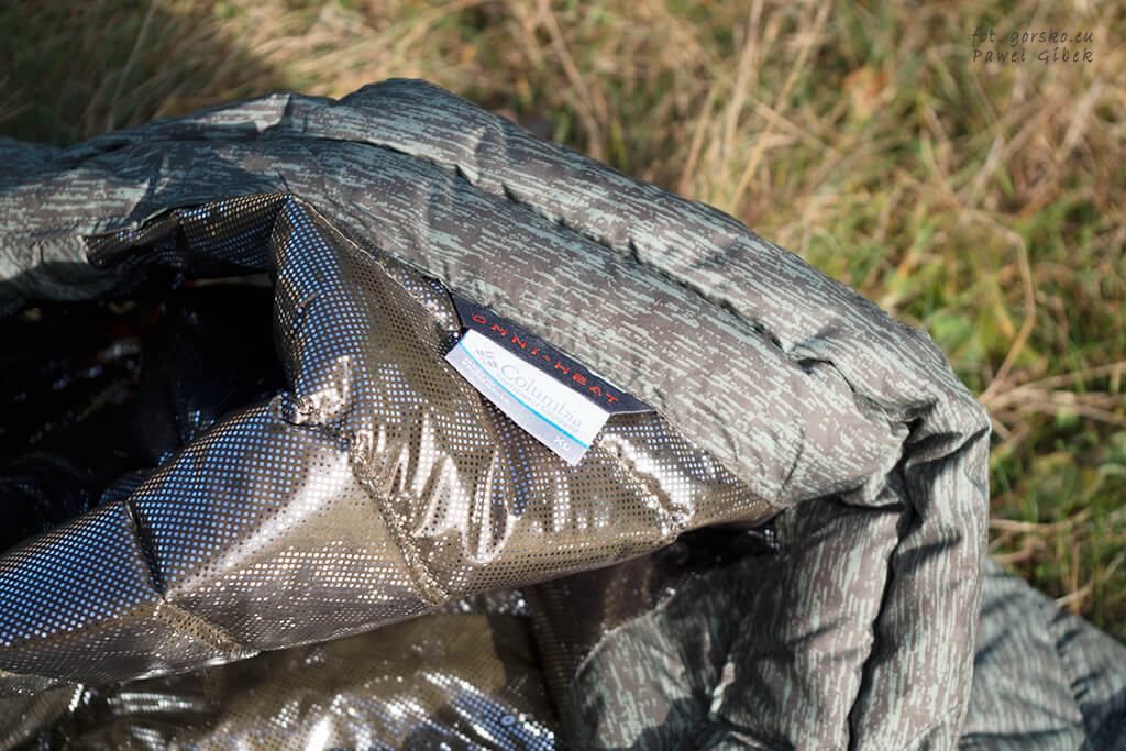 Kamizelka Columbia Powder Lite Vest. Omni-Heat Reflective