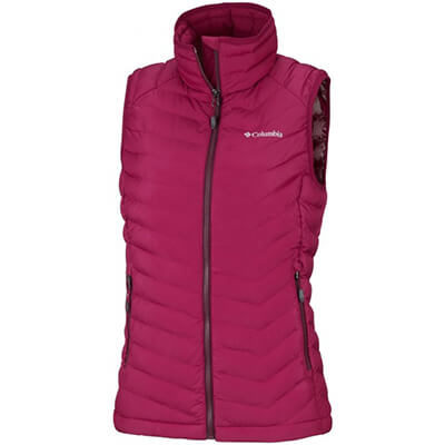 Kamizelka Columbia Powder Lite Vest. Pomegranate Rich Wine