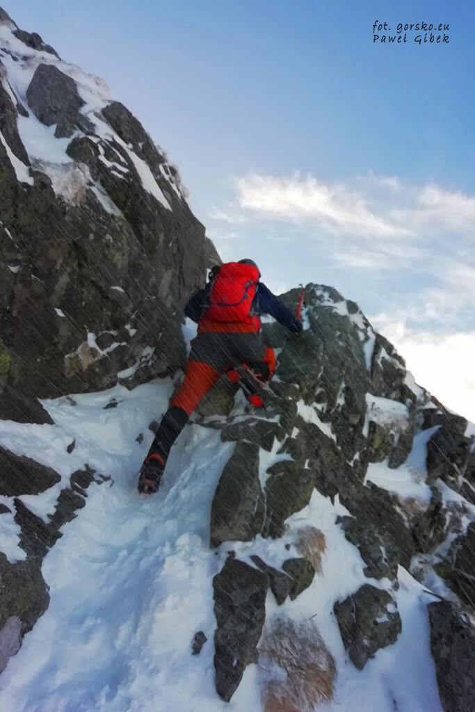 Spodnie softshellowe Columbia Titan Ridge II trudne warunki