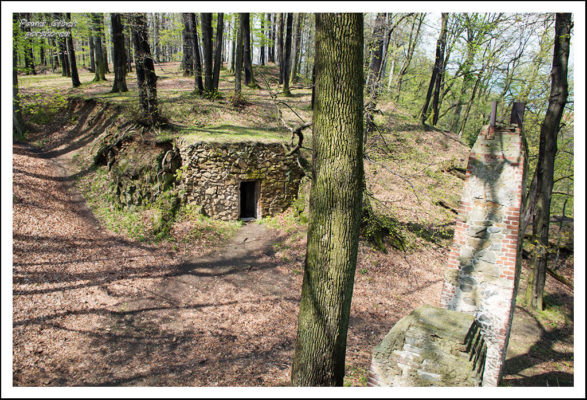 Ścieżka Hochbergów. Ruiny Zamku Stary Książ