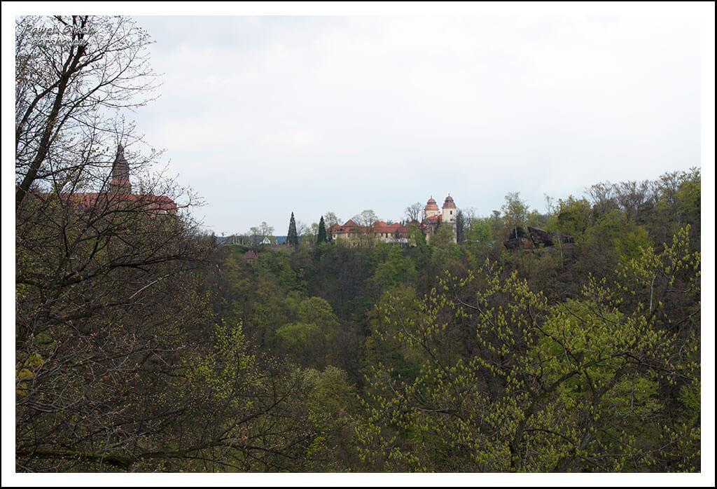 Ścieżka Hochbergów. Z punktu widokowego zobaczymy Zamek Książ