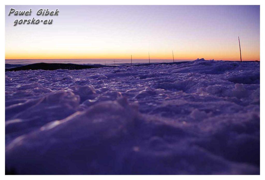 Śnieżnik-zimą.-Galeria-zdjęć-ze-szczytu.-Zachód-słońca-2