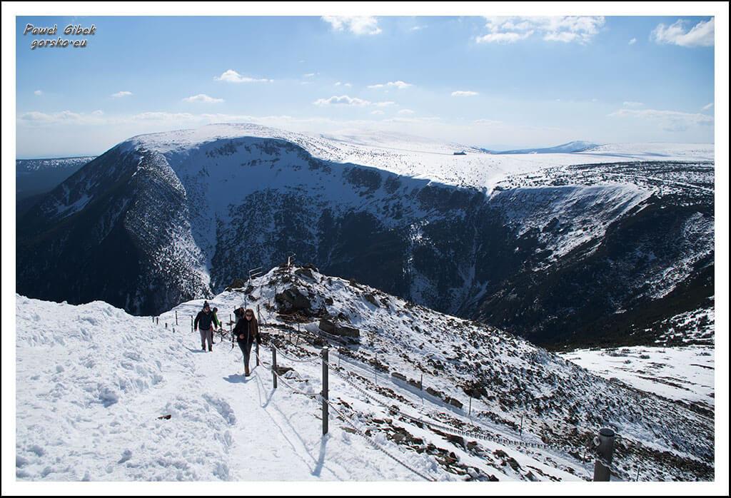 Szlak-na-Sniezke-Czechy-Podejście-na-szczyt-Śnieżki-2