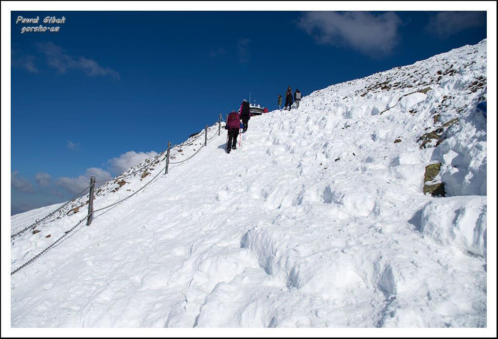 Szlak-na-Sniezke-Czechy-Podejście-na-szczyt-Śnieżki-3