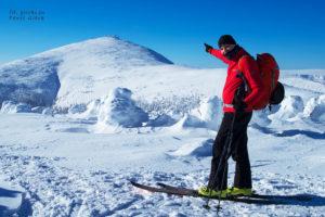 Śnieżka-na-skiturach