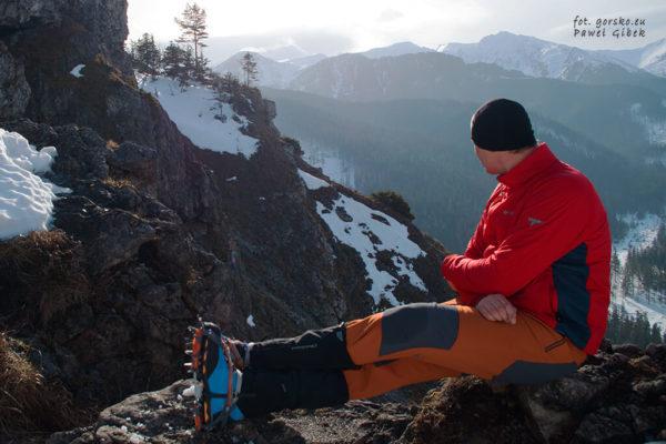 Test kurtki Columbia Alpine Traverse z ociepliną Polartec Alpha