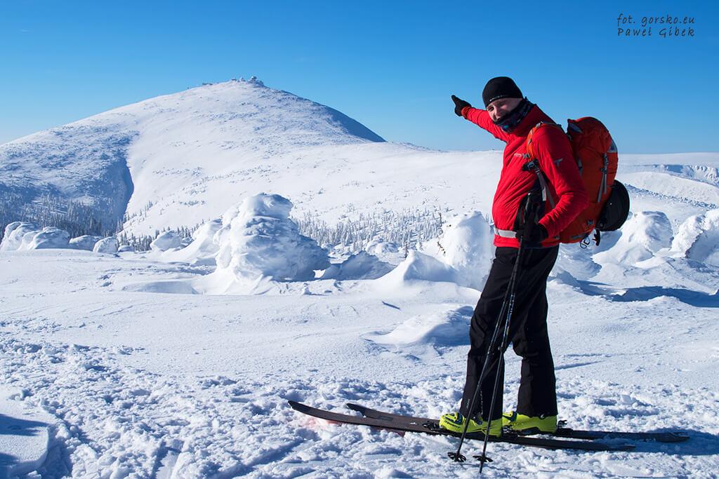 Test-kurtki-Columbia-Alpine-Traverse-w-trakcie-wypadu-skiturowego-w-Karkonosze