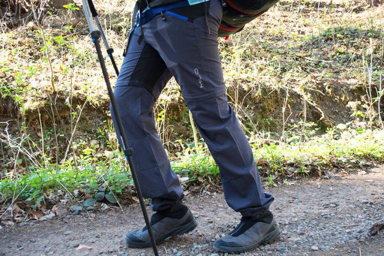 Profilowane kolana zwiększają komfort wędrówki