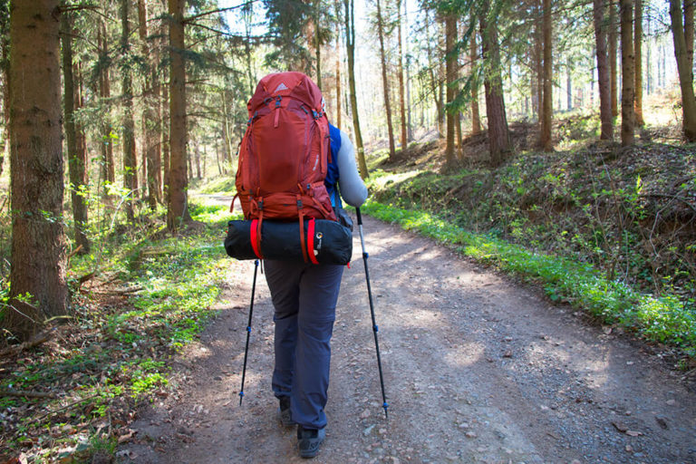 Spodnie testowałem m.in. w trakcie trekkingu w Sudetach z biwakiem w terenie