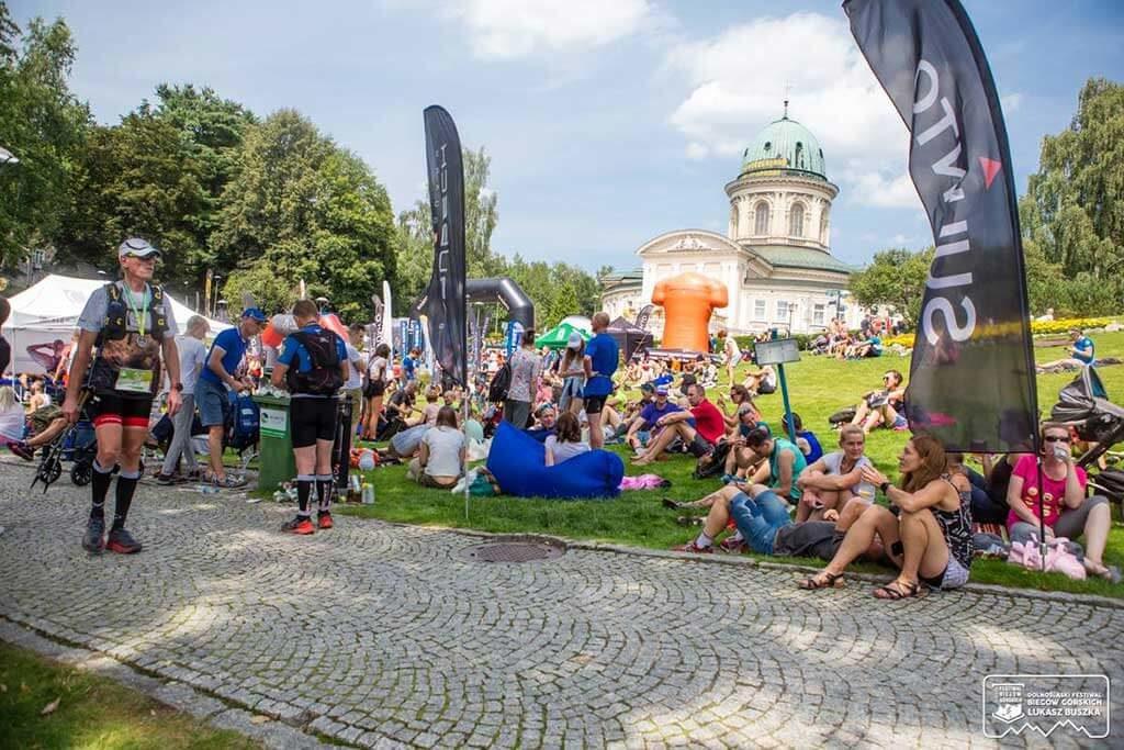 Dolnośląski Festiwal Biegów Górskich - kibice i zawodnicy