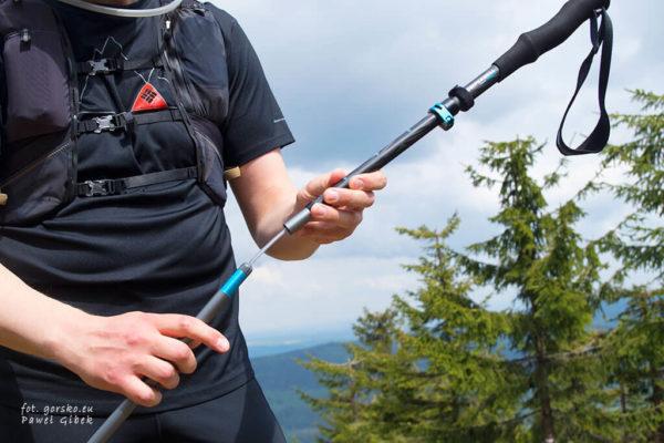Read more about the article Test kijów do trekkingu i biegania Komperdell Trailstick C7 Carbon