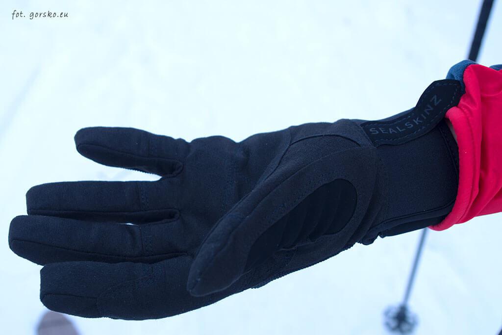 Rękawice wodoodporne Sealskinz Dragon Eye - strona chwytna