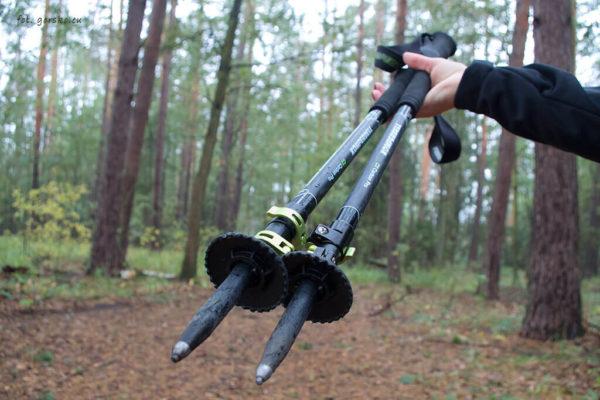 Kije trekkingowe Komperdell C3 Carbon Pro