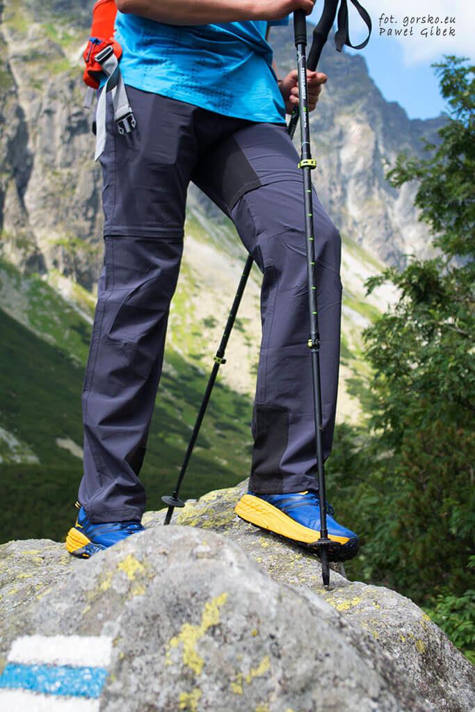 Test kijów C3 w Tatrach Wysokich