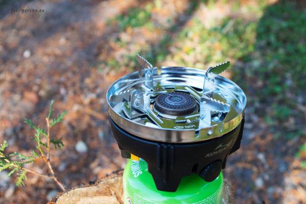 Zestaw do gotowania Kovea Alpine Pot - nakładka do używania palnika z innymi garnkami