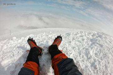 Raki Climbing Technology Lycan na szczycie Kazbeku