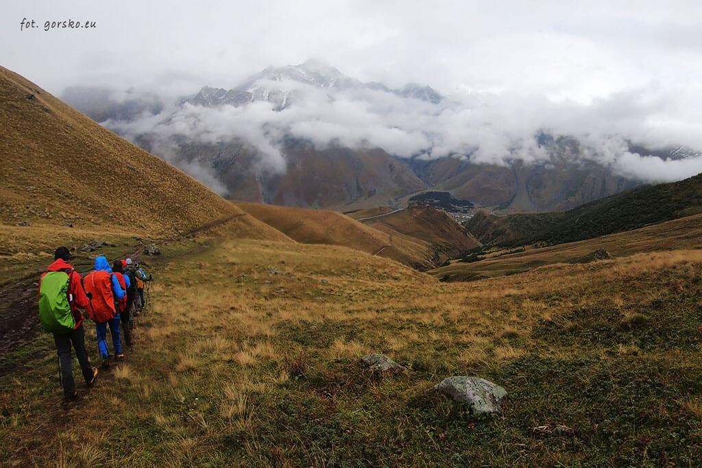 Kazbek zejście