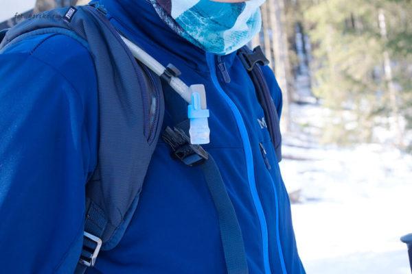 Plecak Thule Upslope 35 izolacja wężyka od bukłaka