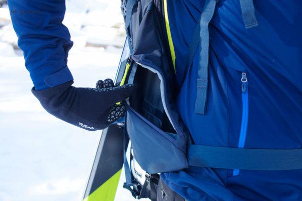 Plecak skiturowy Thule Upslope 35 kieszeń boczna