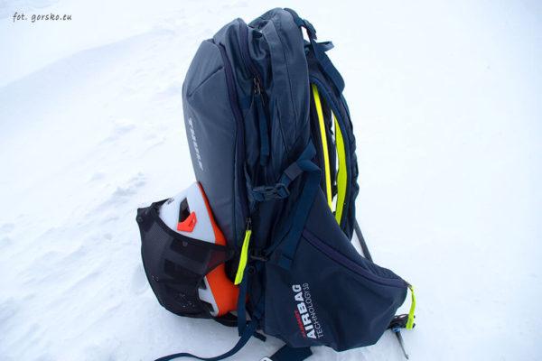 Plecak skiturowy Thule Upslope 35 uchyt na kask