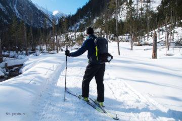 Plecak skiturowy Thule w Tatrach