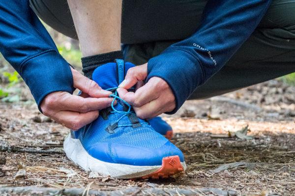 Buty hikingowe Columbia Facet 30 OutDry - wiązanie speed lacing (kieszonka)