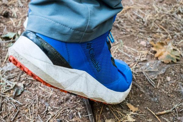 Buty hikingowe Columbia Facet 30 OutDry - stabilizacja pięty