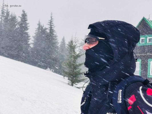 Test kominiarki Columbia Trail Summit II
