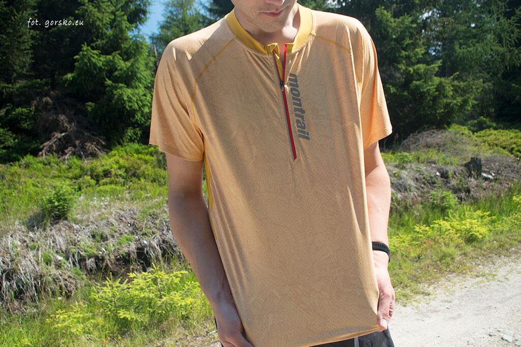 Koszulka-chłodząca-Columbia-Montrail-FKT-elastyczny-materiał