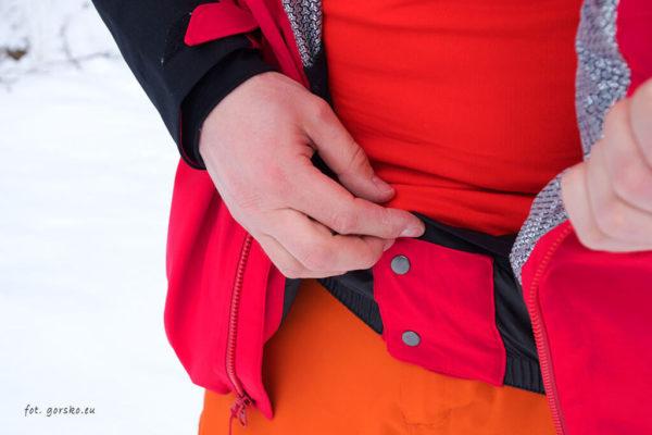 Kurtka narciarska Columbia Powder Keg III - fartuch przeciwśnieżny