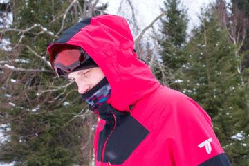 Kurtka narciarska Columbia Powder Keg III - obszerny kaptur