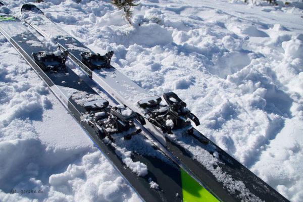 Narty skiturowe Volkl VTA 88 - drewniany rdzeń