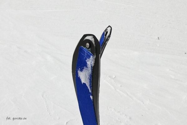 Narty skiturowe Volkl - system mocowania fok Skin Pin