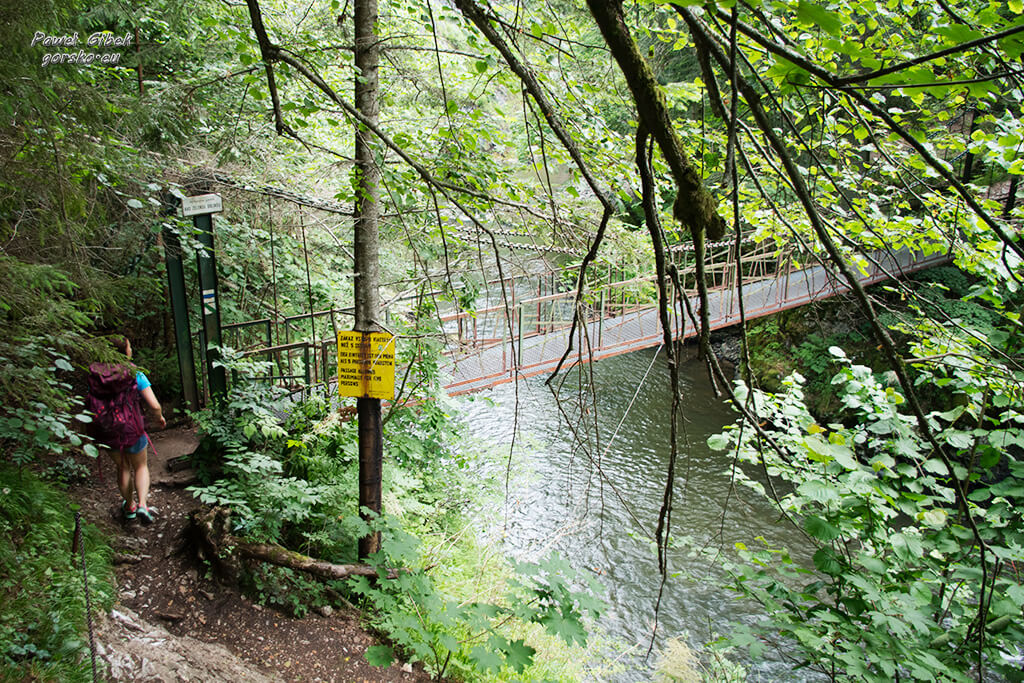 Przełom-Hornadu-w-Słowackim-Raju-mostek