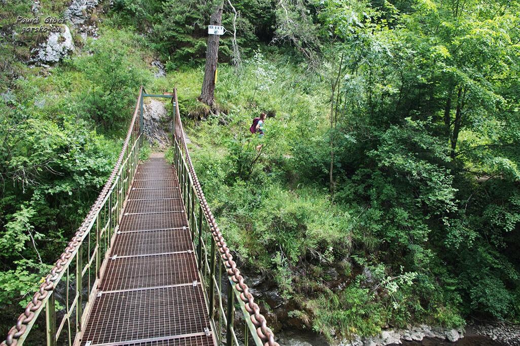 Przełom-Hornadu-w-Słowackim-Raju-mostek-2