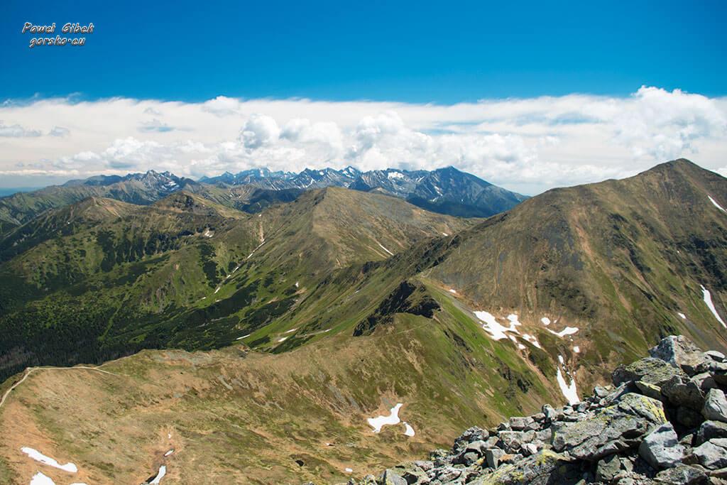 Starorobociański-Wierch-panorama