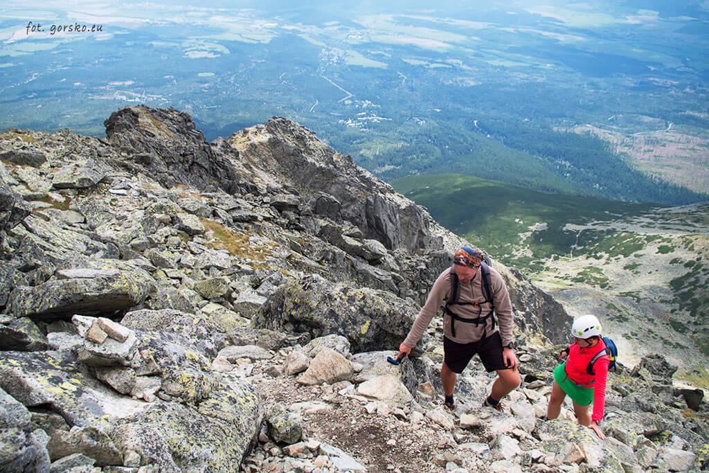 Wejście-na-Kończystą-blisko-szczytu