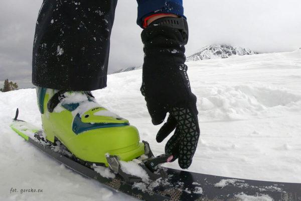 Wiązanie Marker Alpinist - ustawienie Ski Walk