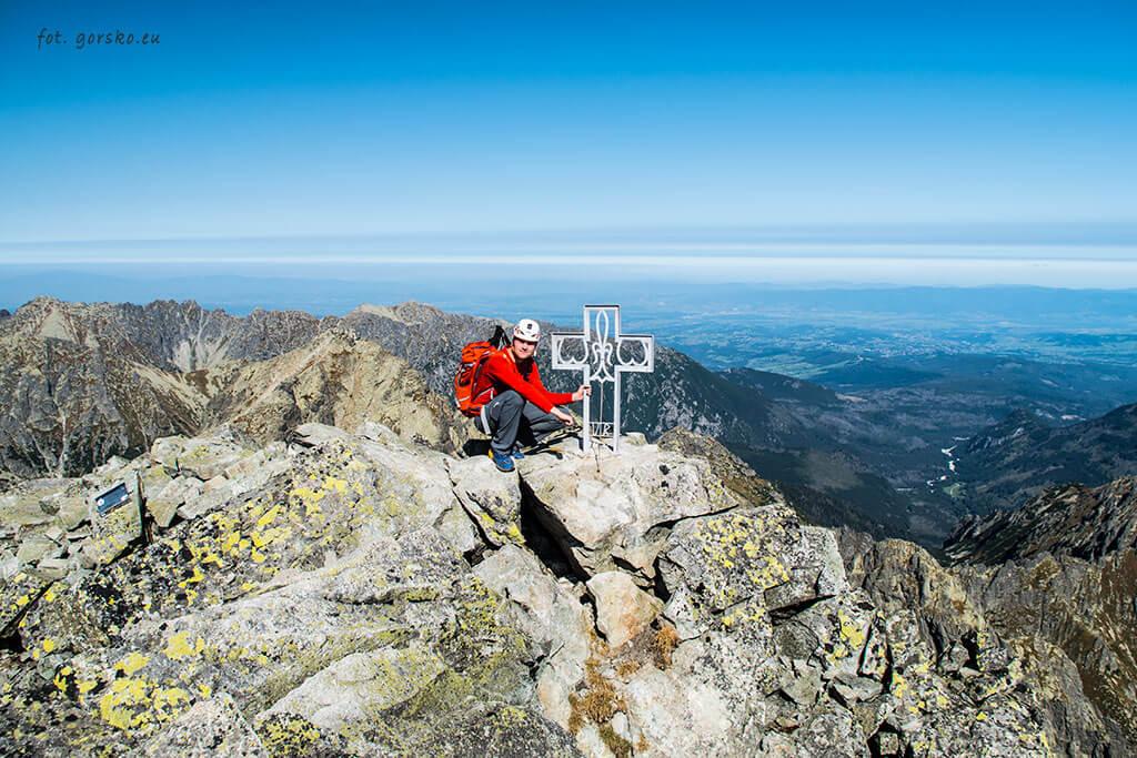 Wysoka Tatry krzyż na szczycie