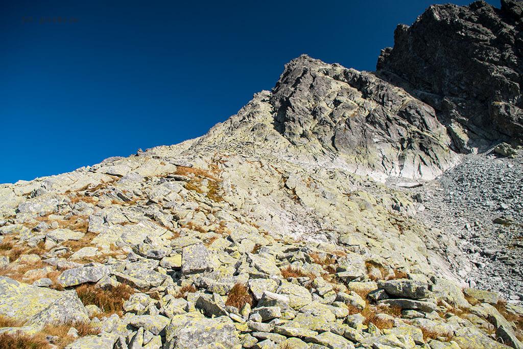 Wysoka wejście Dolina Złomisk Siarczańska Przełęcz 2