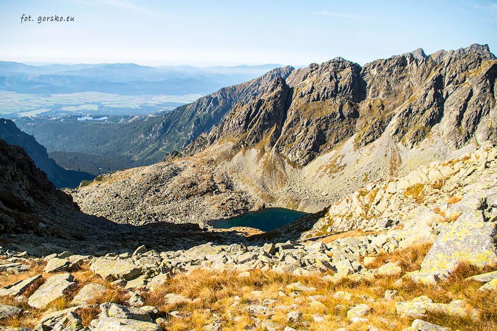 Wysoka wejście Dolina Złomisk Siarczańska Przełęcz