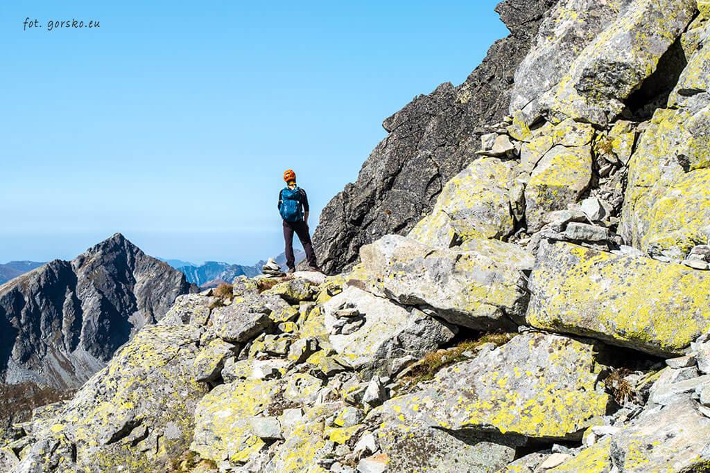 Wysoka zejście przez Przełęcz Waga 2
