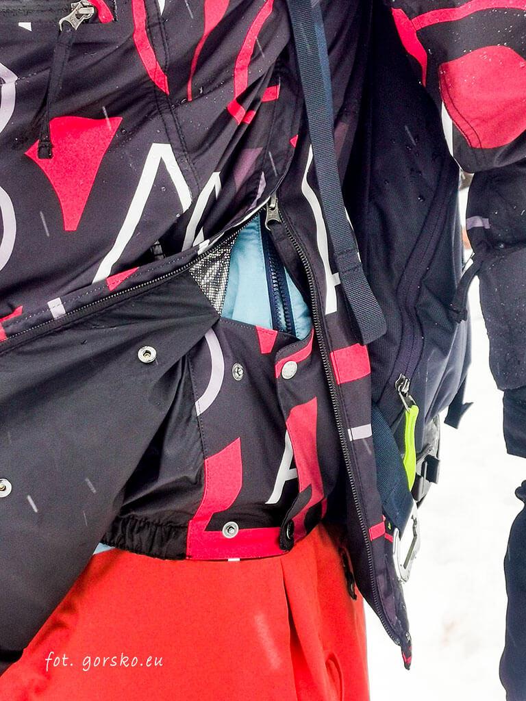 Kurtka na narty Columbia Park Run Anorak fartuch przeciwśnieżny