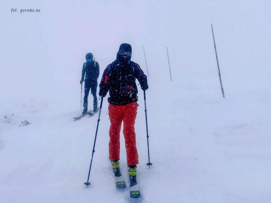 Kurtka narciarska Columbia Park Run Anorak skitury