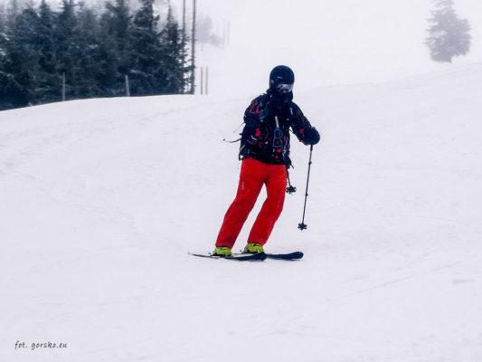 Kurtka narciarska Columbia Park Run Anorak zjazd
