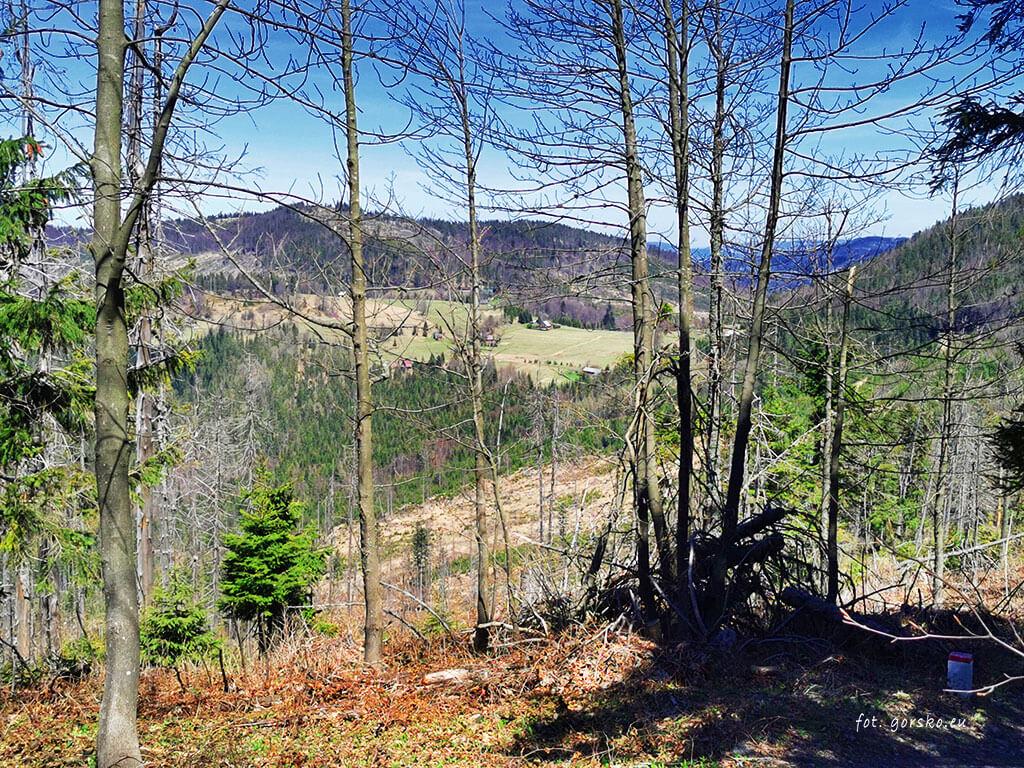 Przełęcz-Przegibek-widok-z-góry